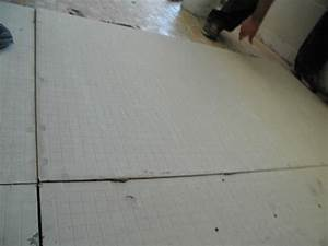 how to install a tile floor in a kitchen how tos diy With what size cement board for tile floor
