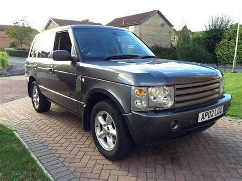 2002 Range Rover Hse by 2002 Land Rover Range Rover Hse L322 3 0 Td6 Automatic