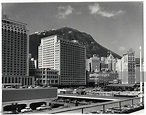 Hong Kong - British Crown Colony. New buildings on the waterfront. On... News Photo - Getty Images