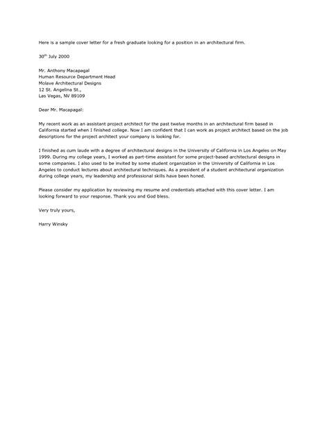 graduate landscape architect cover letter comparable