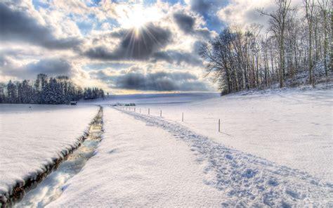 schnee fuer ihren desktop die  schoensten winter