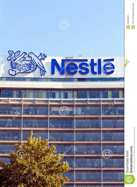 cuisine co nestle office building editorial photo image 32694601