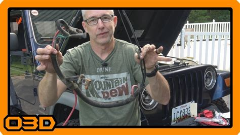 Battery Cable Upgrade Replacement From
