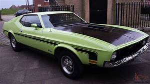 1971 H FORD MUSTANG FASTBACK 302 5.0 LTR V8 AUTO LIME GREEN CALIFORNIA CAR!!!