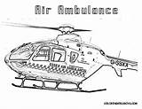 Coloring Pages Ambulance Helicopter Helicopters Police Printable Ems Air Animal Interior Fresh Colouring Sheets Colours Aviation Lego Library Clipart Popular sketch template