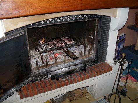 insert cuisine cheminee insert barbecue