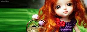 Beautiful Cute Doll With Basket cover photo for facebook ...