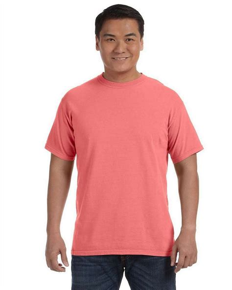 comfort color shirts comfort colors c1717 ringspun garment dyed t shirt