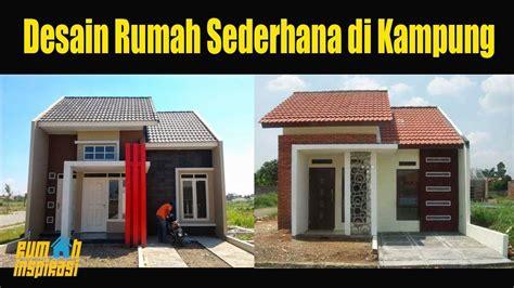 desain rumah minimalis  kampung  terlihat cantik