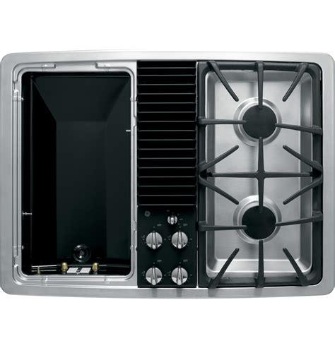 ge profile series built  downdraft gas modular cooktop pgpsenss ge appliances