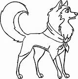 Wolf Coloring Pages Boy Boys Cool Fun Wecoloringpage Koira sketch template