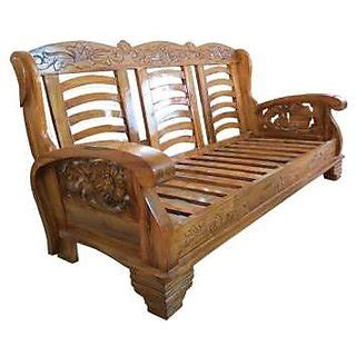 Wooden Sofa Set With Price by Buy Designer Wooden Sofa Set Get 0