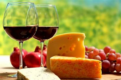 Wine Cheese Glasses Drinks Wallpapers