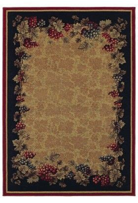 Shaw Tuscan Vineyards Natural on Area Rugs.com (for kitchen) Victorian Rugs , Fabrics and