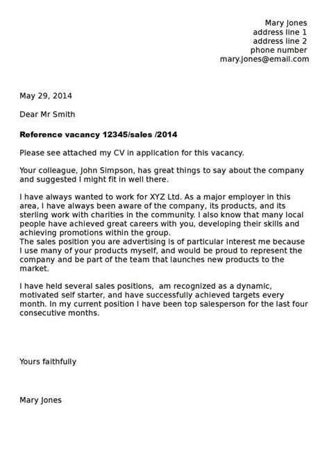 sle cover letter for recruitment consultant position