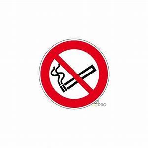 Panneau Interdiction De Fumer : panneau rond interdiction de fumer 1 4mepro ~ Melissatoandfro.com Idées de Décoration