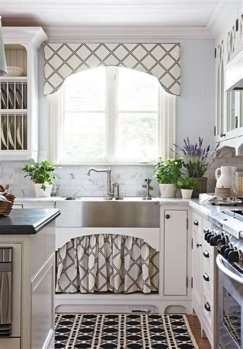 kitchen cabinet curtain ideas  designs