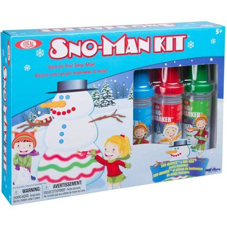Ideal Snomarker Snoman Kit Walmartcom