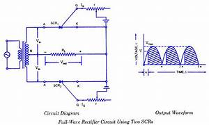 Full Wave Rectifier Using Scr