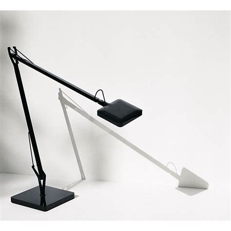 Base external cover in abs. Flos Kelvin EDGE Base LED Table Lamp Black F3452030 dimmable - Diffusione Luce srl