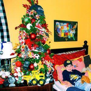 11 best images about Sports Theme Christmas Tree on