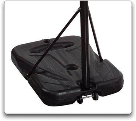 spalding portable basketball system  polycarbonate