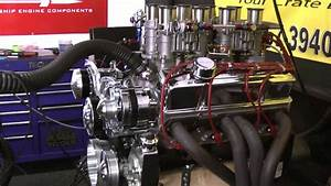 350 Chevy 435hp With Inglese Stack Induction By