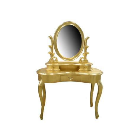 canapé velours baroque vente de coiffeuse dorée au magasin de meubles de