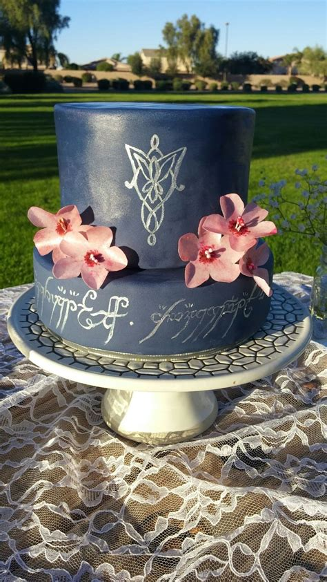 lord of the rings wedding cake lotr gourmet