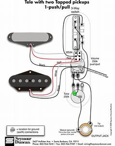 Tele Wiring Diagram  Pull In 2019