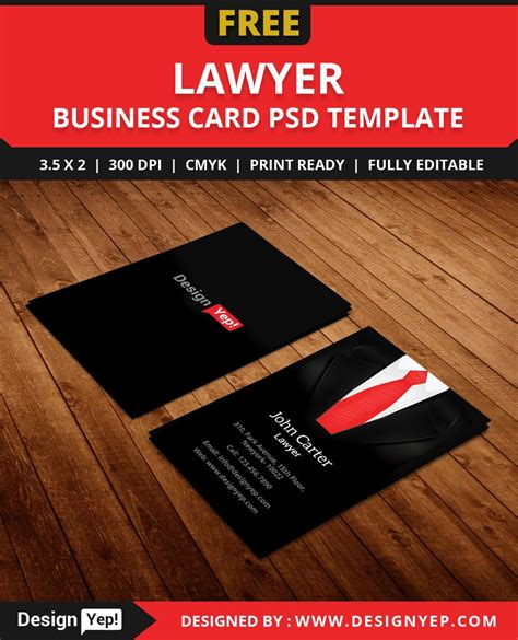 lawyer business cards free templates free lawyer business card template psd free business