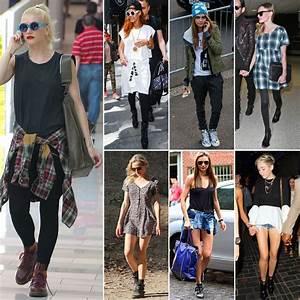 Celebrities Wearing the u0026#39;90s Trend | POPSUGAR Fashion