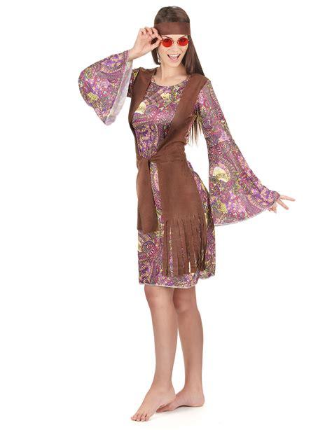 costume di carnevale figlia dei fiori costume hippie figlia dei fiori per donna costumi