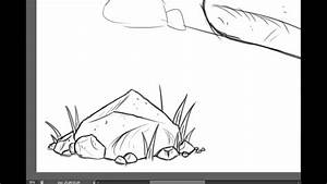 How To Draw Rocks And Boulders