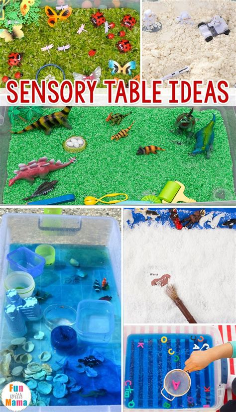 sensory table ideas sensory activities for toddlers 602 | sensory table