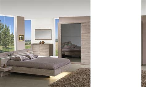 chambres et tables d h es chambre complète contemporaine couleur chêne clair