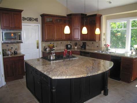 yellow moon granite kitchens pinterest