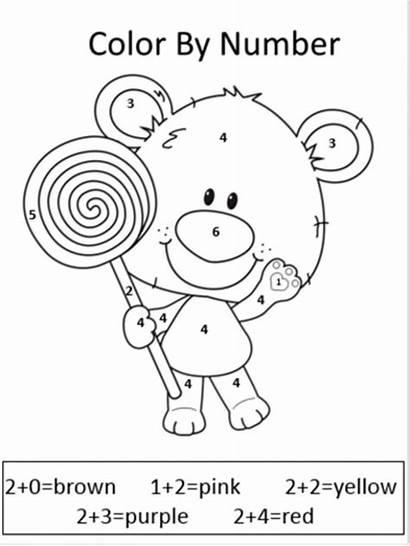 Grade Worksheets Printable Math Maths Coloring Division