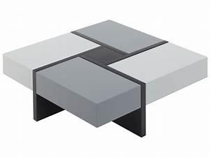 Table Basse Grise Pas Cher : table basse embleme table basse vente unique ventes pas ~ Teatrodelosmanantiales.com Idées de Décoration