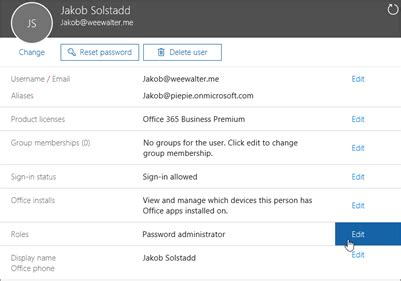 Office 365 Roles by Admin Roles In Office 365 Support Portal