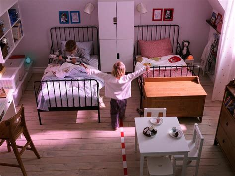 girls room floor l bedroom shared kids bedroom design with black iron bed
