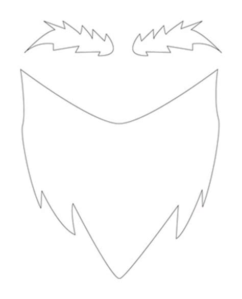 goatee template how to simple infant gnome costume madpimp