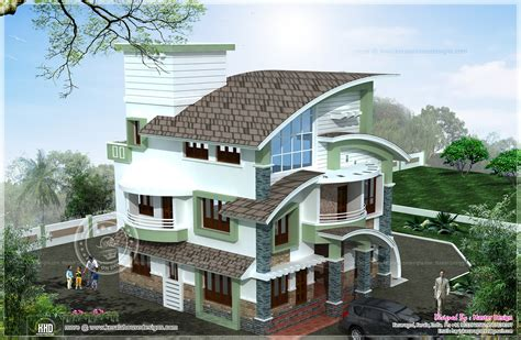 2 bed 2 bath house plans arch type 3 storey home elevation kerala home design