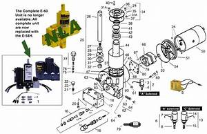 Meyer E60    E60h Pump Parts