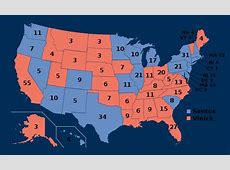 Quick What's wrong with this electoral map? bradwarthencom
