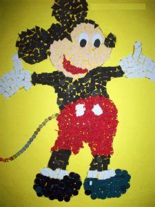 mickey mouse craft idea  kids crafts  worksheets