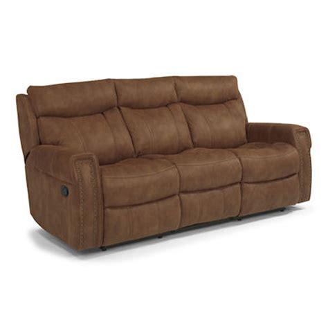 flexsteel wyatt power reclining sofa flexsteel 1450 62 wyatt reclining sofa discount