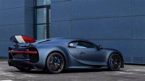 Blue, white and red, decorate the body and interiors of the french car manufacturer's latest model, representative of a flag which today, symbolizes the the french revolution. Bugatti Chiron Sport '110 ans Bugatti': not only extremely exclusive but also pays tribute to France