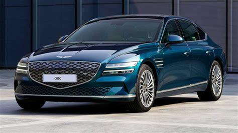 Genesis Electrified G80 Bows In Shanghai As Brand's First EV