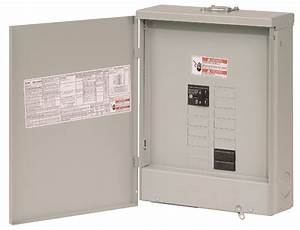 Cutler Hammer Br1020b100rf 100 Amp Main Breaker Loadcenter